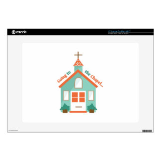"""Going to the Chapel 15"""" Laptop Decals"""