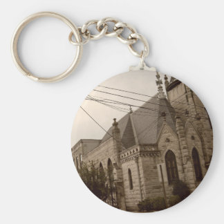 Going to the Chapel Basic Round Button Keychain