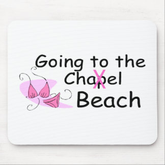Going To The Chapel (Beach) (Bikini) Mouse Pad