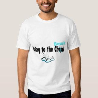 Going To The Chapel (Beach) (Flip Flop) Tee Shirt