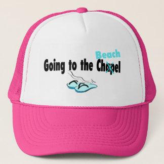 Going To The Chapel (Beach) (Flip Flop) Trucker Hat