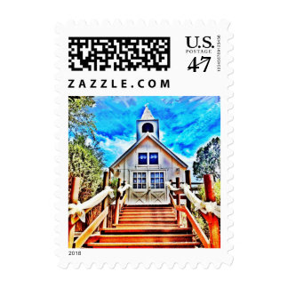 Going to the Chapel Country Wedding Postage Stamps