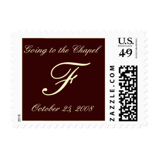 Going to the Chapel - Customized Postage