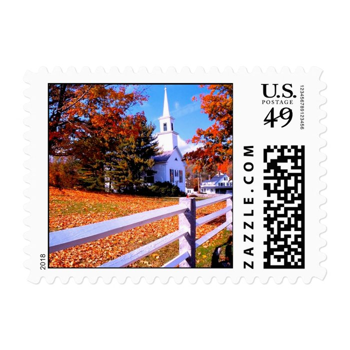 Going to the Chapel of Love Postage Stamp