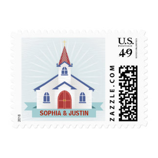Going to the Chapel Stamp - White
