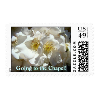 Going to the Chapel! stamps Wedding postage Shower