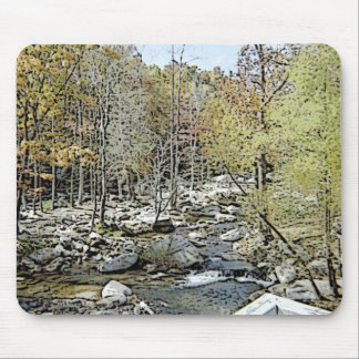 Going to the Creek! Mouse Pad