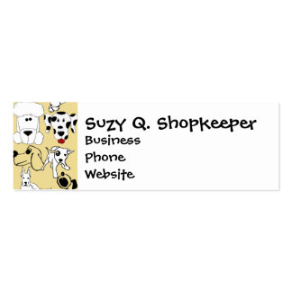 Going to the Dogs Pet Lovers Vet Dog Gifts Business Card