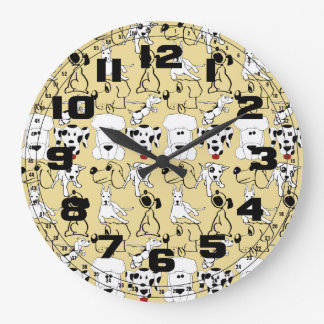 Going to the Dogs Pet Lovers Vet Dog Gifts Clocks