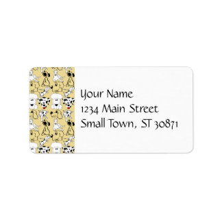 Going to the Dogs Pet Lovers Vet Dog Gifts Labels
