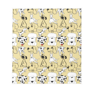 Going to the Dogs Pet Lovers Vet Dog Gifts Notepad