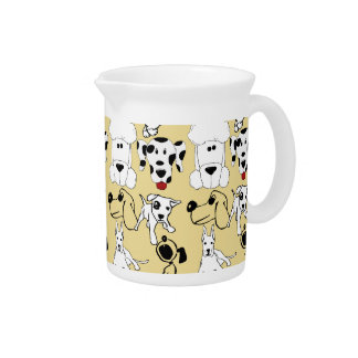 Going to the Dogs Pet Lovers Vet Dog Gifts Beverage Pitcher