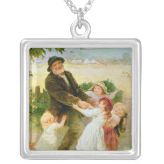 Going to the Fair Silver Plated Necklace
