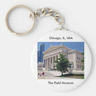 Going to the Field Museum Basic Round Button Keychain