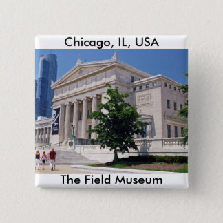 Going to the Field Museum Pinback Button