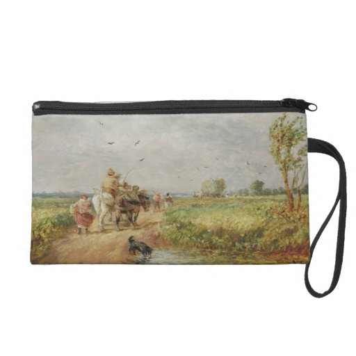Going to the Hayfield, 1853 (oil on millboard) Wristlets