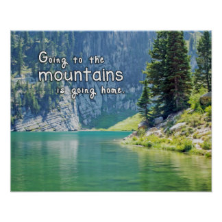 Going to the Mountains is Going Home Poster