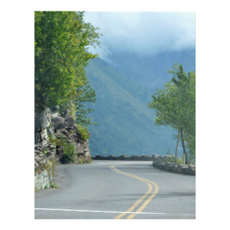 """Going to the Sun Road 8.5"""" X 11"""" Flyer"""