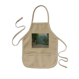 Going to the Sun Road Kids' Apron