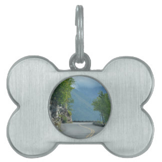 Going to the Sun Road Pet Name Tag