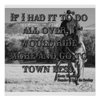 Going to Town Poster