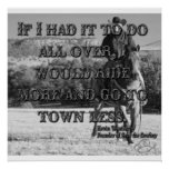 Going to Town Print