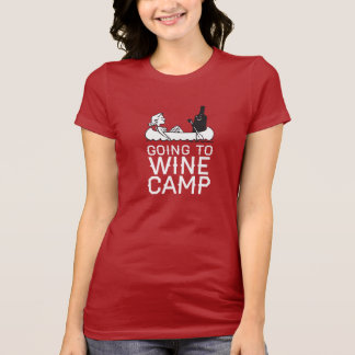 Going to Wine Camp - Canoe T-Shirt
