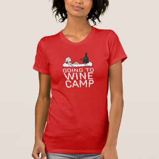 Going to Wine Camp - Canoe T Shirt