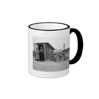 Going Underground, 1930s Ringer Coffee Mug