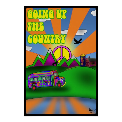 Going Up The Country Poster
