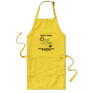 Going Viral Often Means Going In Reverse Long Apron