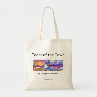 GOJii Toast of the Town...Tote Tote Bag