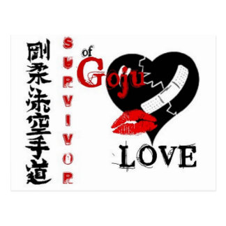 Goju Love 1 Postcard