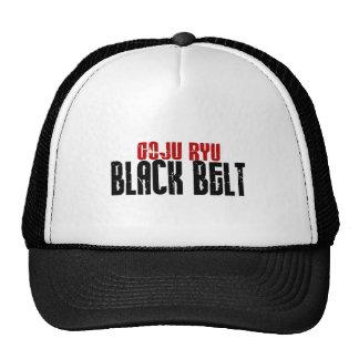 Goju Ryu Black Belt Hats