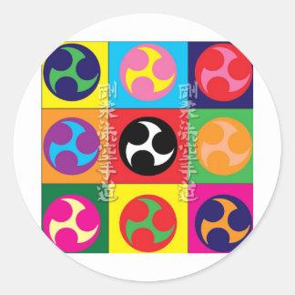 Goju Ryu Karate Do Classic Round Sticker