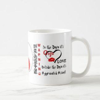 Goju Sun with Warning of Goju Love Coffee Mug