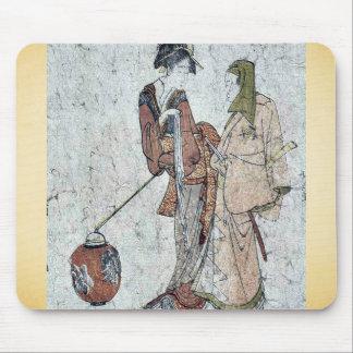 Gokuin Seneimon por Katsushika, Hokusai Ukiyo-e. Tapete De Ratones