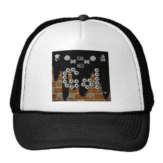 GOL BRICK BACKGROUND PRODUCTS TRUCKER HAT