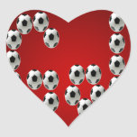 GOL PRODUCTS HEART STICKER