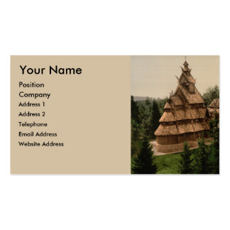 Gol Stave Church, Oslo, Norway Double-Sided Standard Business Cards (Pack Of 100)