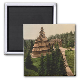 Gol Stave Church, Oslo, Norway Magnet