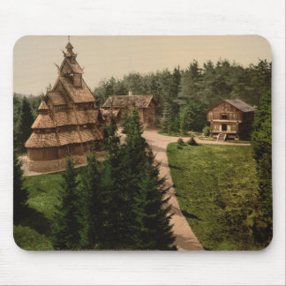 Gol Stave Church, Oslo, Norway Mouse Pad
