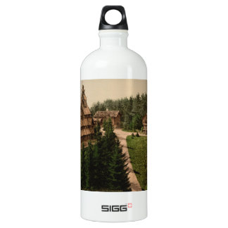 Gol Stave Church, Oslo, Norway Water Bottle