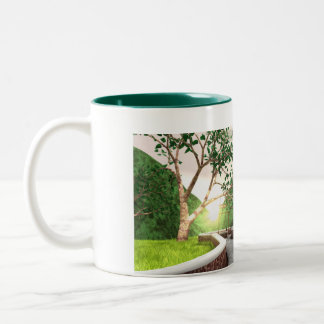 gol Two-Tone coffee mug
