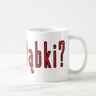 ¿golabki conseguido? taza de café