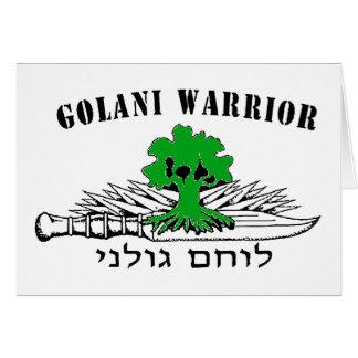 Golani Warrior Light Card