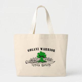 Golani Warrior Light Jumbo Tote Bag