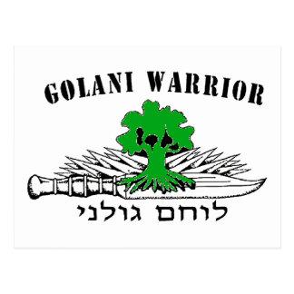 Golani Warrior Light Postcard