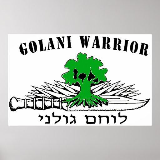 Golani Warrior Light Poster