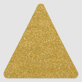 gold #21 triangle sticker